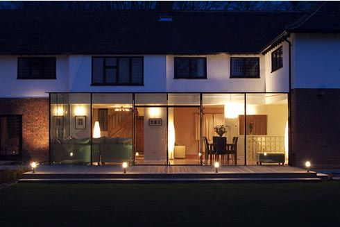 Improve your property by going sideways unmodernised - Glass extensions to houses ...