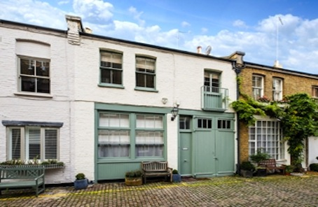 Mews in prime SW7 with planning to add 90% more premium space