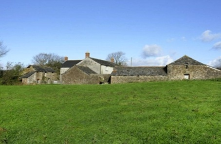 A handsome country farmhouse with 90 acres and provenance
