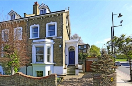 Freehold corner house to get excited about in Battersea SW18