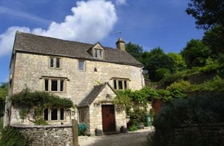 Halfway house to a home in Cotswold village of Pitchcombe