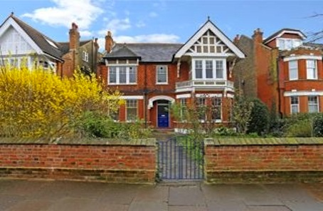Appealing Ealing: double-fronted statement of a house in prime W5